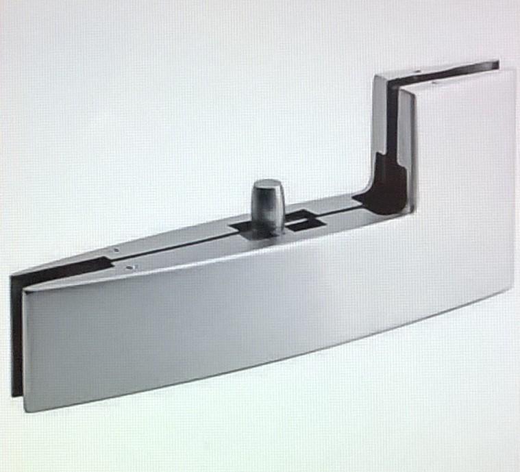 enlace empalme ngulo recto vidrio superior bisagra puerta montado al cristal