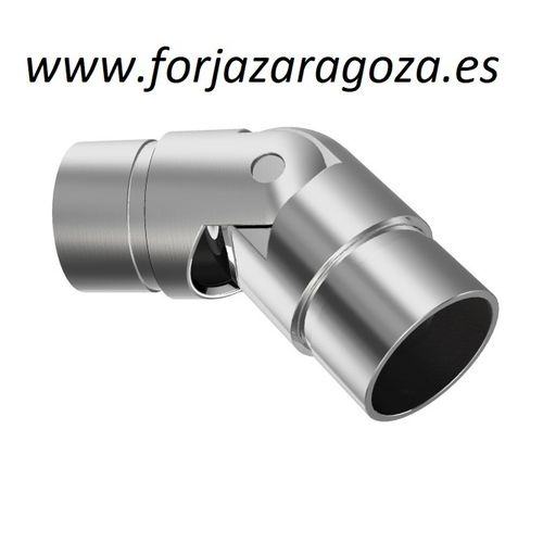 Codo ajustable  Ø -42,4mm    -0º / +70º