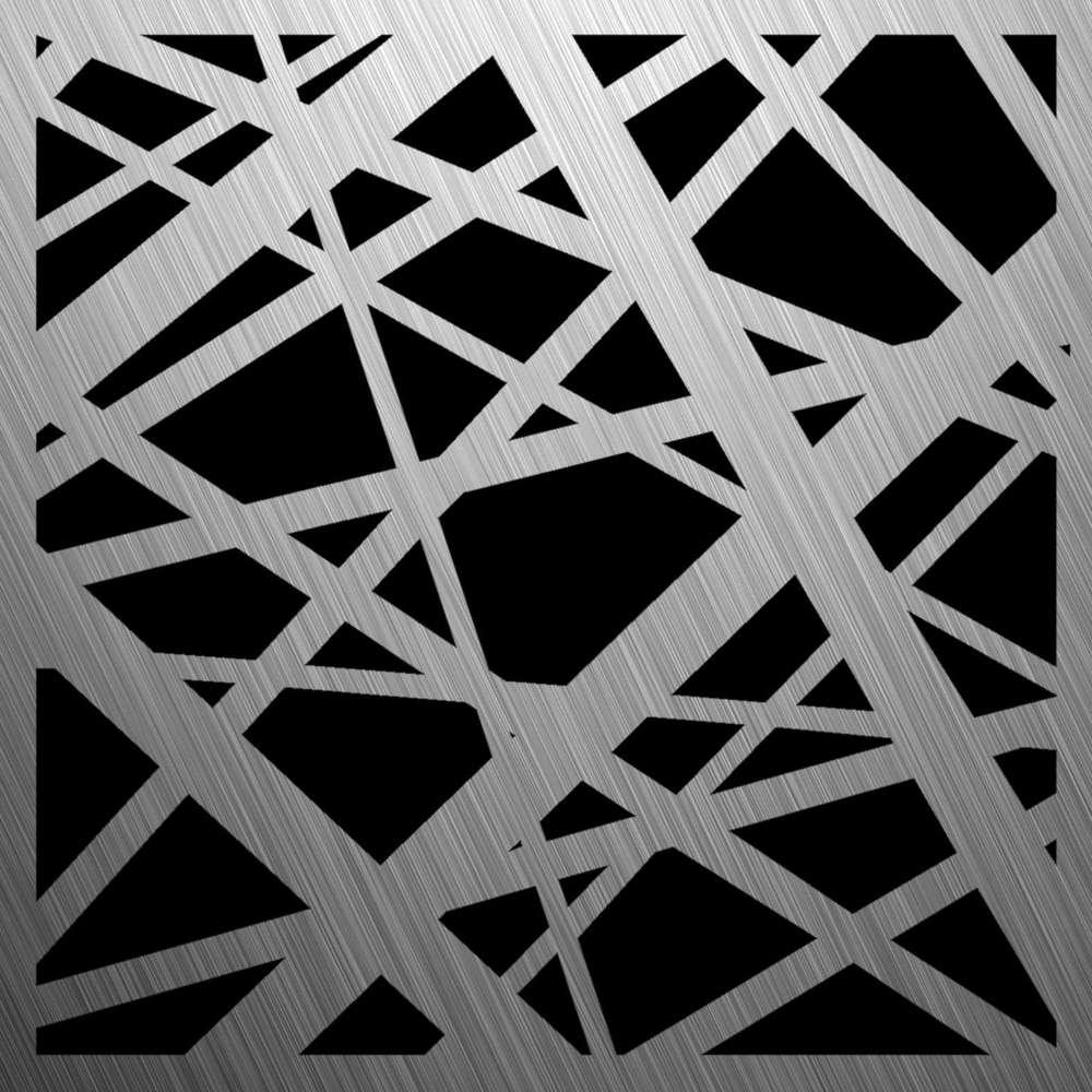 Feuille D Inox À Coller tôle d'acier inoxydable perforée, éléments en acier inoxydable